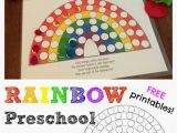 Rainbow with A Pot Of Gold Coloring Page Activity Rainbow Colors & Fill the Pots Of Gold Free