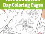 Rainbow with A Pot Of Gold Coloring Page St Patrick S Day Coloring Pages St Patrick S Day
