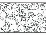 Rainforest Scene Coloring Pages Coloring Animals Coloring Pages Resume Print Amazon Rainforest
