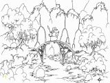Rainforest Scene Coloring Pages Printable Scenery Coloring Pages Amazing Coloring Page Alligator