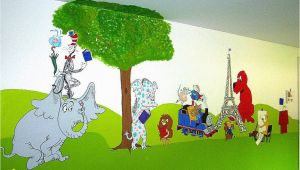 Rangers Fc Wall Mural Storybook Characters Mural