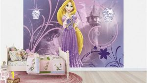 Rapunzel Wall Mural Girl Bedroom Accessories for Disney Tangled Kids Bedroom Wall Decor