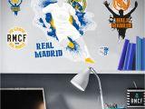 Real Madrid Wall Mural Real Madrid Logo Urban