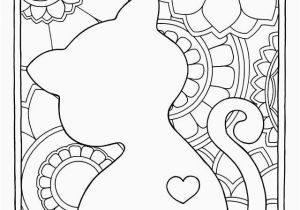 Realistic Cute Animal Coloring Pages Luxury Cute Animal Coloring Pages Heart Coloring Pages