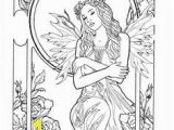 Realistic Fairy Coloring Pages for Adults 230 Best Coloring Fairies & Mythical Creatures Images On Pinterest