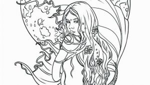 Realistic Mermaid Coloring Pages for Adults Realistic Coloring Pages for Adults at Getcolorings