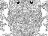 Realistic Owl Coloring Pages Owl Doodle Art Hard Coloring Page Free to Print for Grown Ups