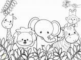 Really Cute Animal Coloring Pages Best Jungle Animal Coloring Pages andrew norman