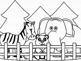 Really Cute Animal Coloring Pages Zoo Coloring Pages