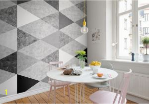 Rebel Walls Murals Geometric Marble Interior at Home