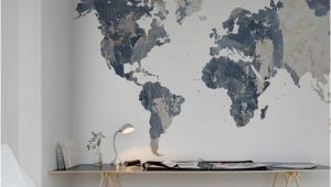 Rebel Walls Murals Your Own World Battered Wall In 2019 Interior Design