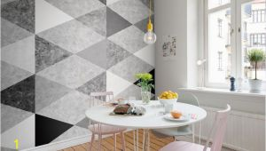 Rebel Walls Wallpaper Murals Geometric Marble Interior at Home