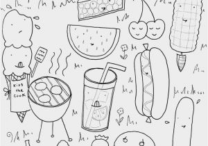 Recipe Book Coloring Pages Best Food Free Ariannha
