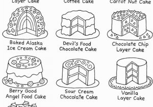 Recipe Book Coloring Pages Dover Color & Cook Tea Party 4