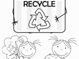 Recycling Coloring Pages Activity Kid Color Pages Earth Day for Girls