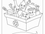 Recycling Coloring Pages Activity Recycling Worksheets for Preschool
