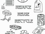 Recycling Coloring Pages Activity Reduce Reuse Recycle Coloring Pages Recycling Coloring Page Kid