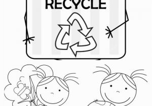 Recycling Coloring Pages for Kids Printable Kid Color Pages Earth Day for Girls
