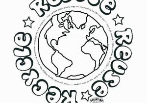 Recycling Coloring Pages for Kids Printable Recycle Coloring Pages 14