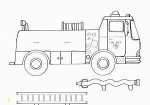 Recycling Truck Coloring Page Fire Truck Pictures to Color Fire Truck Coloring Page