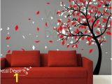 Red and Black Wall Murals Pin by Betty Wilfong On Home Tiles Wallpaper Paint Etc