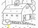 Red Barn Coloring Page 128 Best Summer Color by Number Images