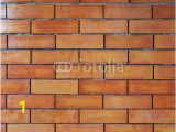 Red Brick Wall Mural Old Red Brick Wall Seamless Vector Illustration Background