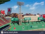 Red sox Green Monster Wall Mural Green Monster Stockfotos & Green Monster Bilder Alamy