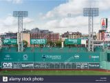Red sox Green Monster Wall Mural the Green Monster Stockfotos & the Green Monster Bilder Alamy