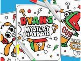 Red Titan Ryan Coloring Page 16 Best 6th Bday Party Ryan Jimmys Mystery Images