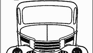 Red Truck Christmas Coloring Pages Vintage Truck Color Book Pages