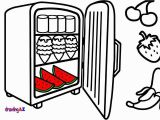 Refrigerator Coloring Page Lollipop Coloring Page Fresh Coloring Pages Food In A Refrigerator