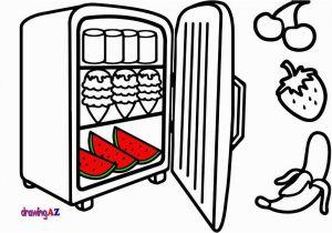 Refrigerator Coloring Page Lollipop Coloring Page Fresh Coloring Pages Food In A Refrigerator