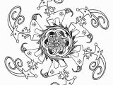 Reindeer Christmas Coloring Pages Christmas Mandala Coloring Pages Reindeer and Christmas
