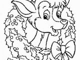 Reindeer Printable Coloring Pages Christmas Reindeer Coloring Pages