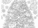 Relaxation Coloring Pages for Adults Adult Coloring Book Magic Christmas for Relaxation