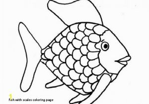 Religious Easter Coloring Pages for Adults Fish with Scales Coloring Page Religious Easter Coloring Page Unique
