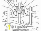 Religious Easter Coloring Pages for toddlers Color by Number Jesus Coloring Page for Kids Printable