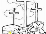 Religious Easter Coloring Pages for toddlers Free Easter Coloring Pages Easter Pinterest
