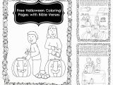 Religious Halloween Coloring Pages Free Pumpkin Story Coloring Book with Bible Verses
