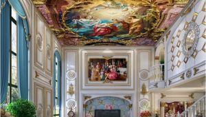 Religious Murals Wallpaper 3d Ceiling Classical Oil Painting Angel Wallpaper Murals Jesus