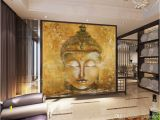 Religious Murals Wallpaper Vintage Buddha Wallpaper 3d Custom Wallpaper Oil Painting Wall