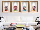Removable Floral Wall Mural Amazon Ltrottedj 3d Flower Wall Sticker ,removable