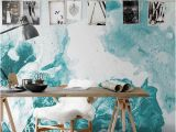 Removable Wall Mural Stickers Marble Stain Wall Murals Wall Covering Peel and Stick