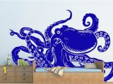 Removable Wall Mural Stickers Octopus Tentacles Removable Wall Art Decor Decal Vinyl Sticker Home Nursery Decor