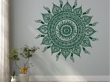 Removable Wall Murals for Cheap Like the Sun Mandalas Silhouette Plex Figure Wall Decal Removable