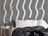 Removable Wall Murals Wallpaper Op Art Wallpaper Black and White Optical Illusion Wall
