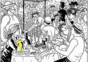Renoir Coloring Pages 18 Best Color Images On Pinterest