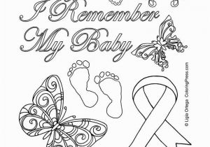 Renoir Coloring Pages Pregnancy and Infant Loss Awareness Coloring Page by Coloring Press
