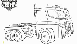 Rescue Bots Optimus Prime Coloring Pages Transformers Rescue Bots Coloring Pages Optimus Prime